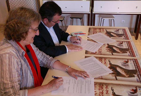 Catherine Touchefeu et Gilles Bontemps