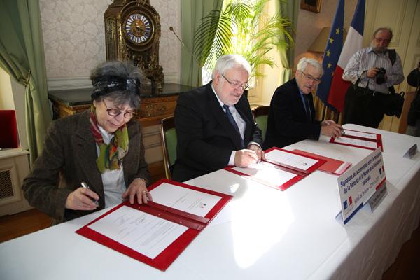 Signatures...