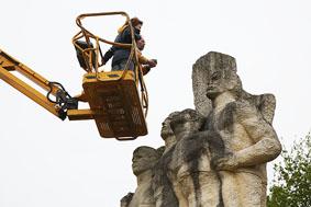 Le monument inspecté