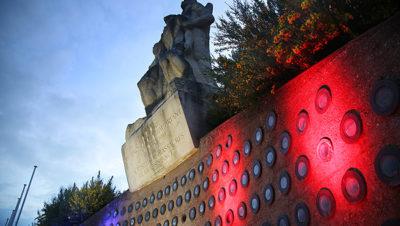 Le monument d'Antoine Rohal