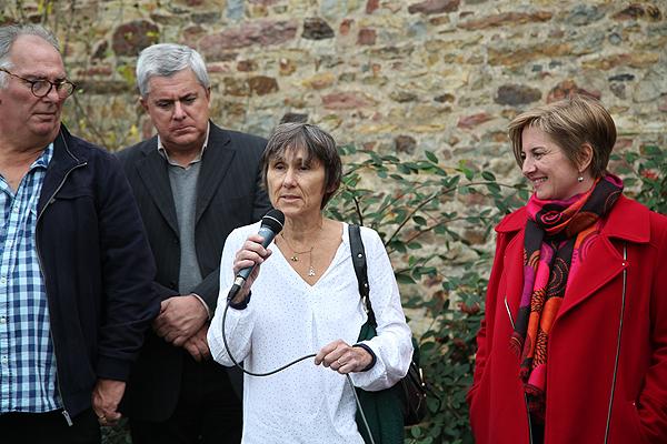 Pascale Tardivel, fille de Louis, remercie l'AMRC et nous rapelle à la mémoire de son père.