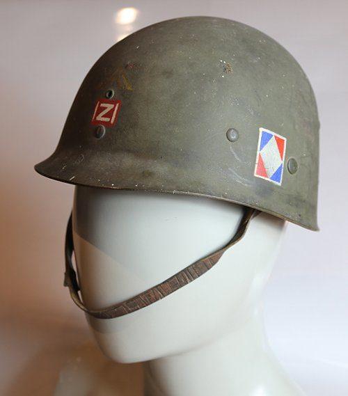 Le casque du brigadier André BOMPOL