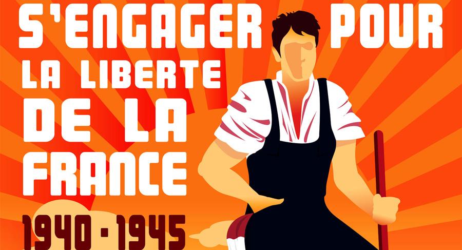 S'engager pour la libération de la France (1940-1945)