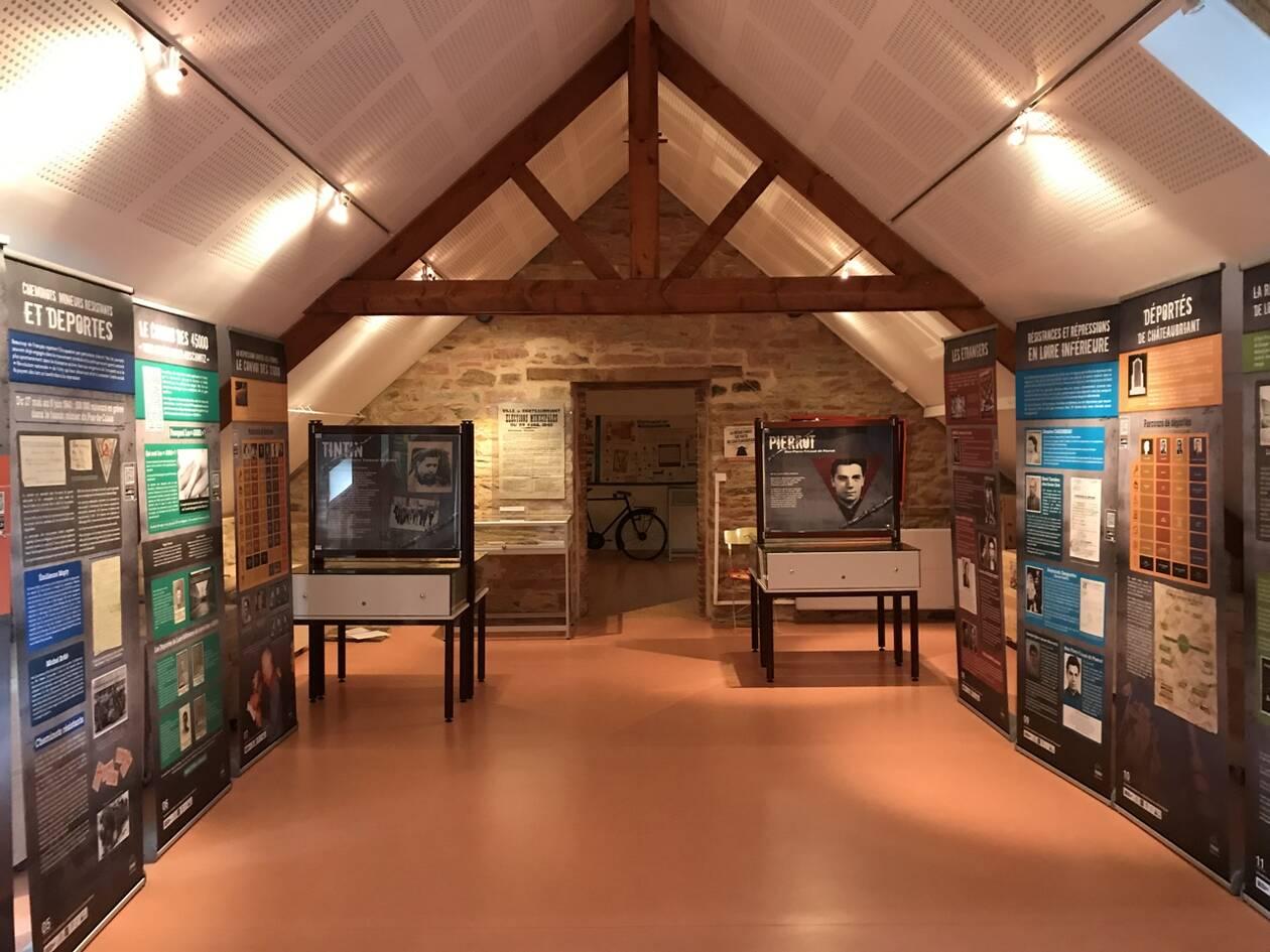 Exposition au musée