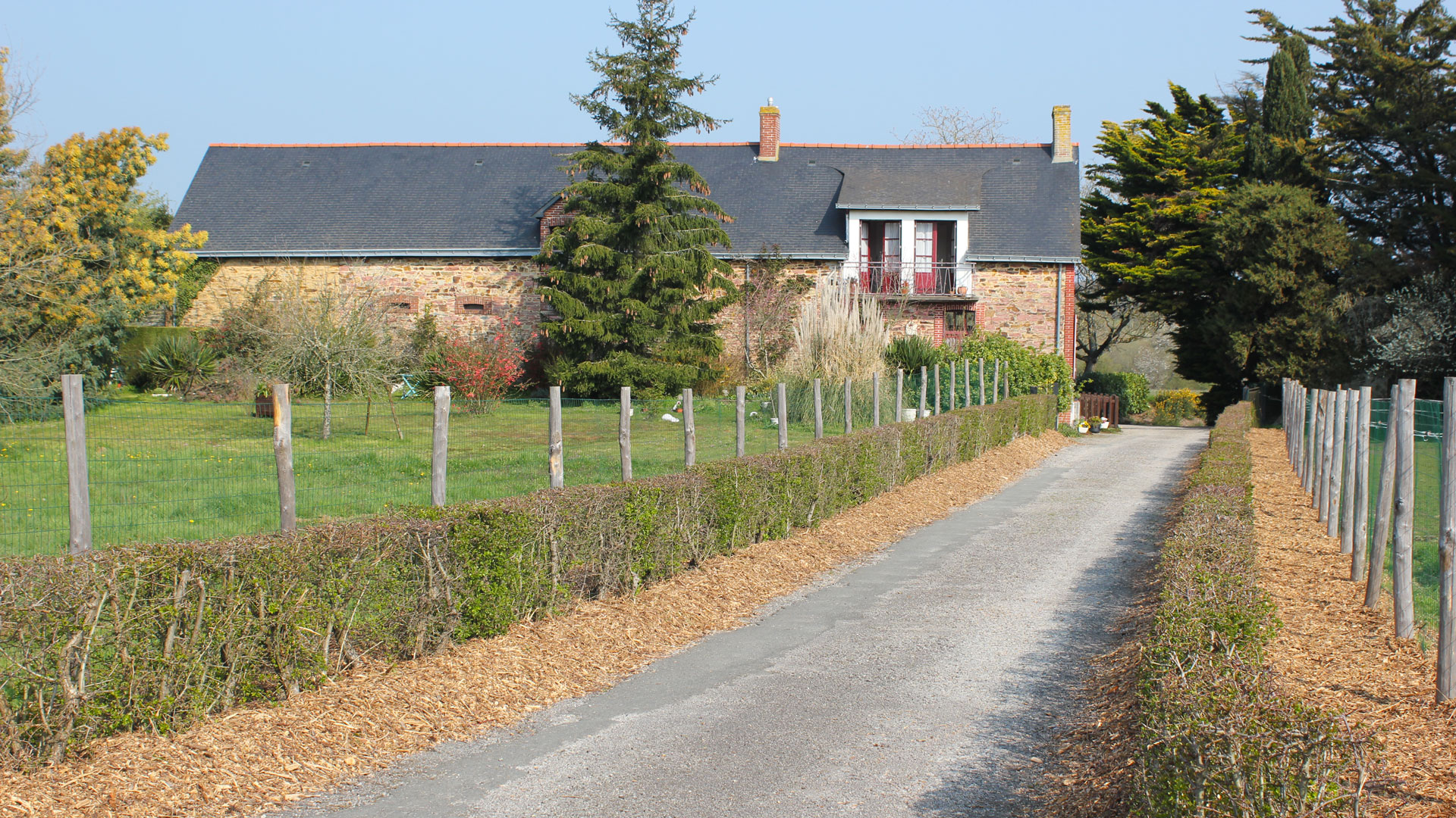 Le musée AMRC - chemin de la ferme