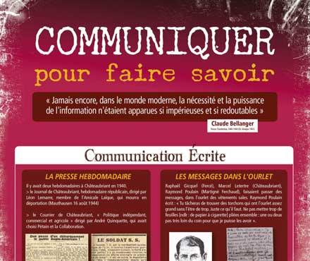 Communiquer c'est résister (1940-1945)