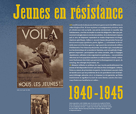Les Jeunes en résistance et Guy Môquet, une enfance fusillée