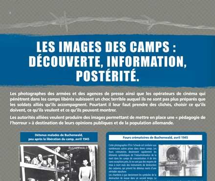 La libération des camps nazis