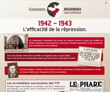 Répression - Résistances - Répression