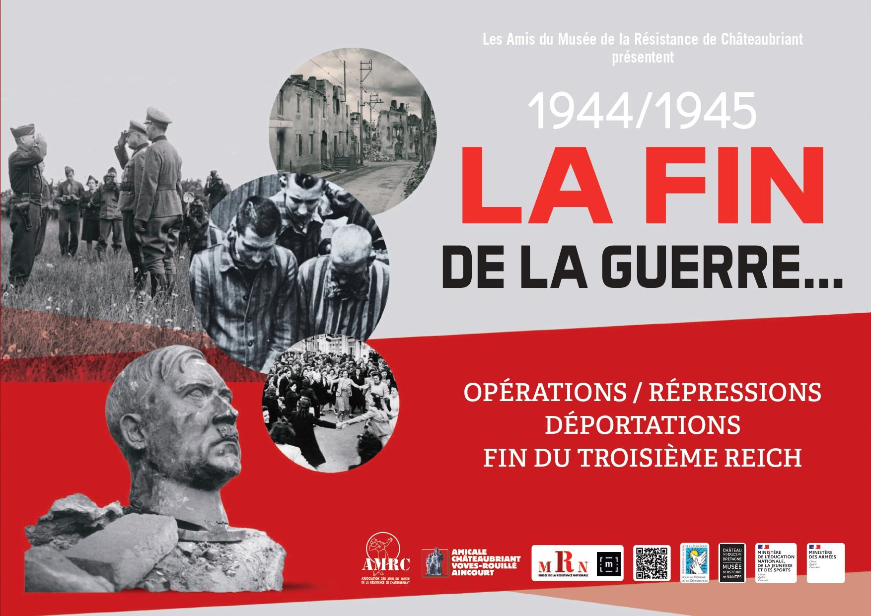 La fin de la guerre : Les opérations, les répressions, les déportations et la fin du 3ème Reich (1944-1945)